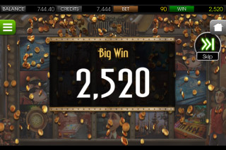 The Curious Machine Mobile Slot Big Win