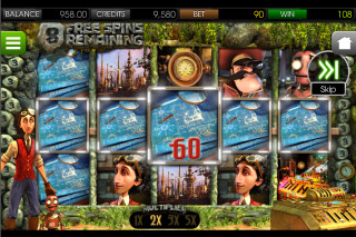 The Curious Machine Mobile Slot Free Spins