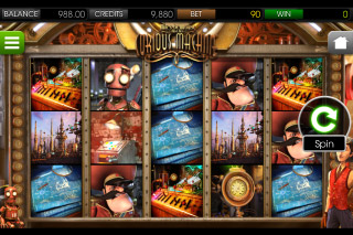 The Curious Machine Mobile Slot Screenshot
