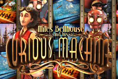 The Curious Machine Mobile Slot Logo