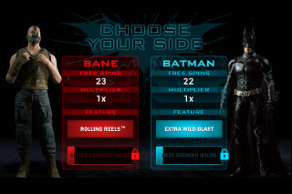 The Dark Knight Rises Mobile Slot Free Spins