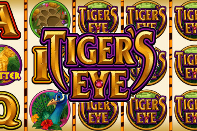 Tiger's Eye Mobile Slot Logo