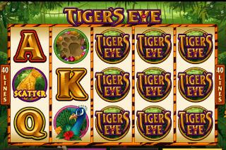 Tiger's Eye Mobile Slot Screenshot