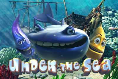 Under the Sea Mobile Slot Logo