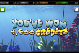 Under the Sea Mobile Slot Win