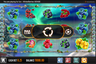Winterberries Mobile Slot Screenshot