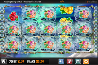 Winterberries Mobile Slot Sticky Berry Wins