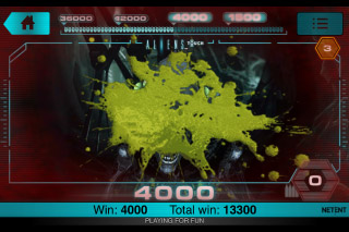 Aliens Touch Mobile Slot Game