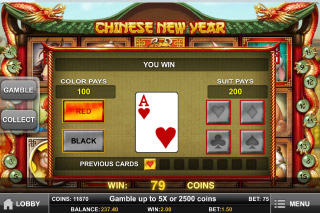 Chinese New Year Slot Gamble Feature