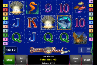 Dolphin's Pearl Deluxe Mobile Slot Scatters