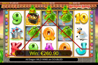 Dragon Drop Mobile Slot Free Spins Win