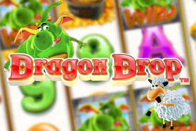 Dragon Drop Mobile Slot Logo