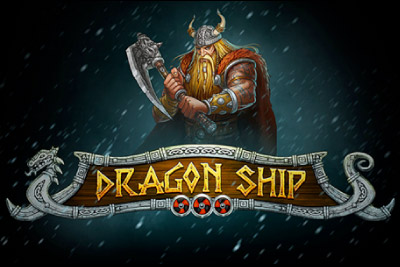 Dragon Ship Mobile Slot Logo