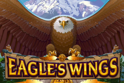 Eagle's Wings Mobile Slot Logo