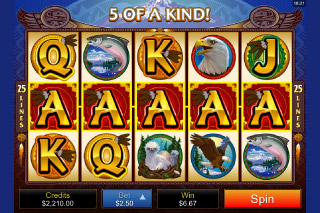 Eagle's Wings Mobile Slot Win