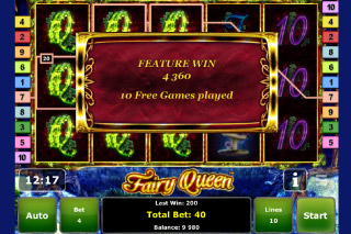 Fairy Queen Mobile Slot Free Spins Win