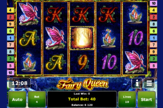 Fairy Queen Mobile Slot Screenshot