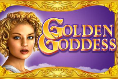 Golden Goddess Mobile Slot Logo