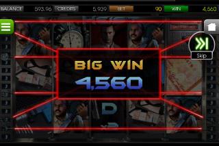 Heist Mobile Slot Big Win