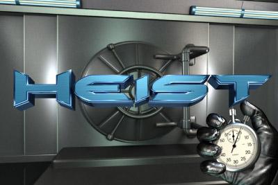 Heist Mobile Slot Logo