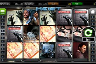 Heist Mobile Slot Screenshot