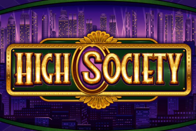 High Society Mobile Slot Logo