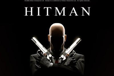 Hitman Mobile Slot Logo