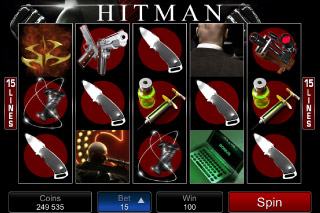 Hitman Mobile Slot Screenshot