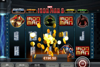 Iron Man 3 Mobile Slot Big Win
