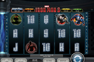 Iron Man 3 Mobile Slot Screenshot