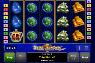 Just Jewels Deluxe Mobile Slot Screenshot
