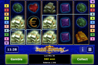 Just Jewels Deluxe Mobile Slot Win