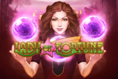 Lady of Fortune Mobile Slot Logo