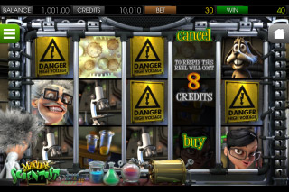 Madder Scientist Mobile Slot Screenshot