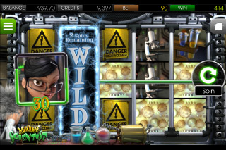 Madder Scientist Mobile Slot Wild