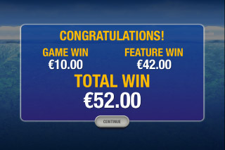 Penguin Vacation Slot Bonus Win