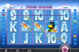 Penguin Vacation Mobile Slot Free Games