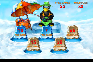 Penguin Vacation Mobile Slot Pick Me