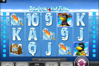 Penguin Vacation Mobile Slot Screenshot