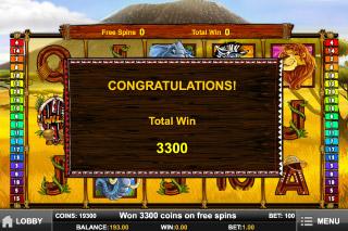 Photo Safari Mobile Slot Big Win