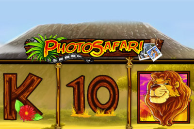 Photo Safari Mobile Slot Logo
