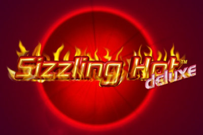 Sizzling Hot Deluxe Mobile Slot Logo