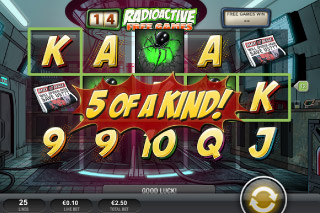 Spider-Man Mobile Slot Radioactive Bonus
