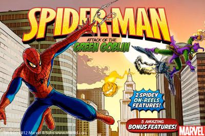 Spider-Man Mobile Slot Logo