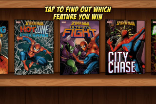 Spider-Man Mobile Slot Bonus Select
