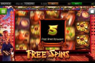 Sushi Bar Mobile Slot Free Spins