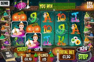 Which Witch Mobile Slot Screenshot