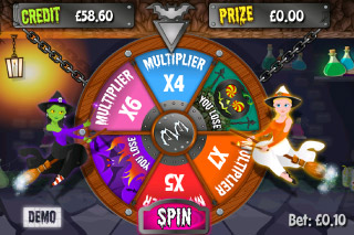 Which Witch Mobile Slot Wheel of Fortune