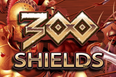 300 Shields Mobile Slot Logo