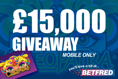 Get Your Share of 15K with BetFred Mobile Casino